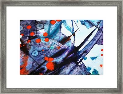 Symphony - Four Framed Print by Mudrow S