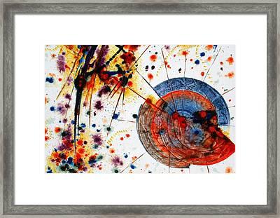 Symphony - Seven Framed Print by Mudrow S