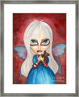 Tabitha Framed Print by Alysa Fioretzi