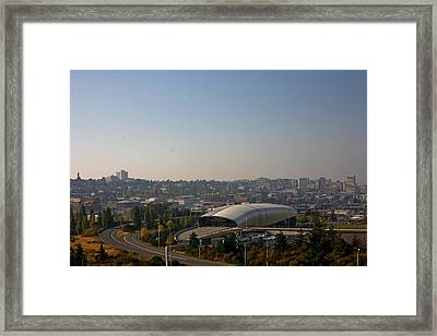 Tacoma's Grand Entrance Framed Print by Robby Green