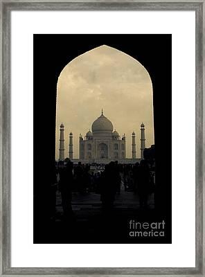 Taj Mahal Framed Print by Inhar Mutiozabal