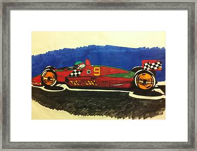 Take Another Look Framed Print by J D