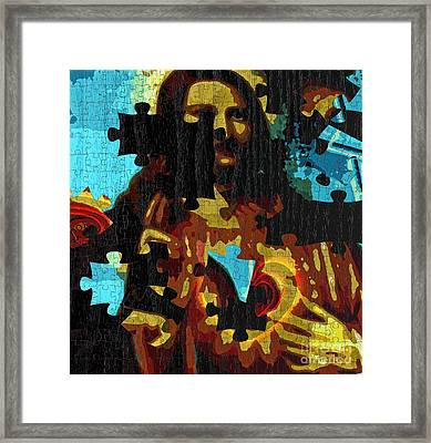 Take My Heart And Give Me Yours Framed Print by Fania Simon