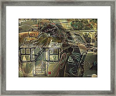 Take The Helm Framed Print by Paulo Zerbato