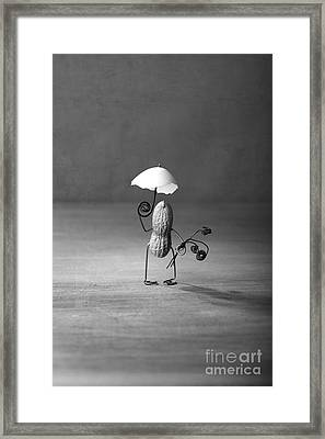 Taking A Walk 02 Framed Print by Nailia Schwarz