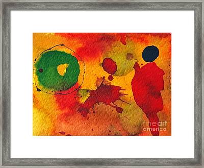 Talking To Myself Framed Print by Ana Maria Edulescu