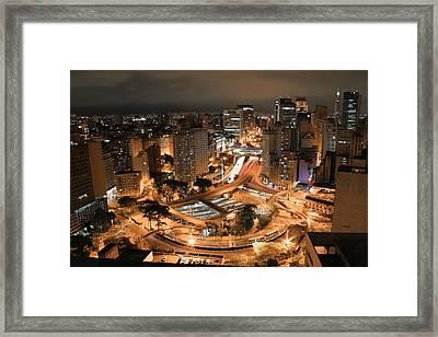 Tall Buildings Framed Print by [.#43] Fabio Raphael