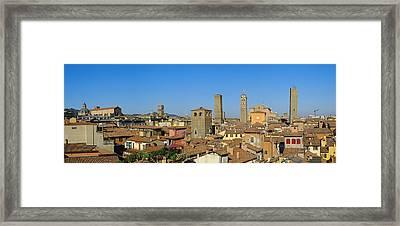 Taly, Emilia-romagna, Bologna, Cityscape Framed Print by Bruno Morandi
