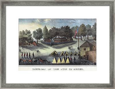Tampa Bay - Fort Brooke Framed Print by Granger