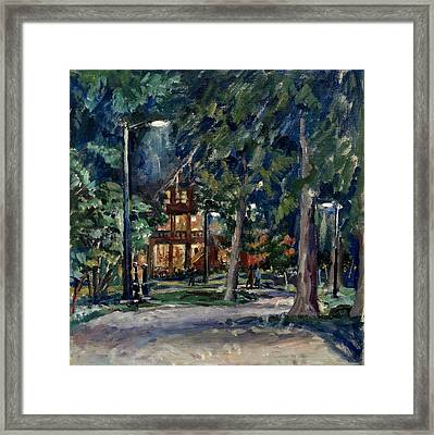 Tanglewood Nocturne Framed Print by Thor Wickstrom