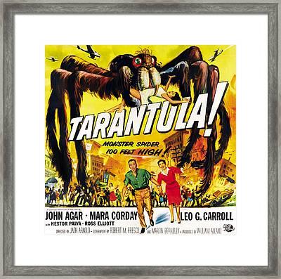 Tarantula, Bottom From Left John Agar Framed Print by Everett