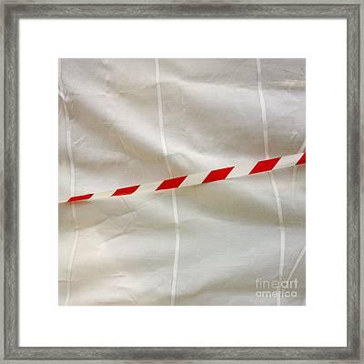 Tarpaulin Framed Print by Bernard Jaubert