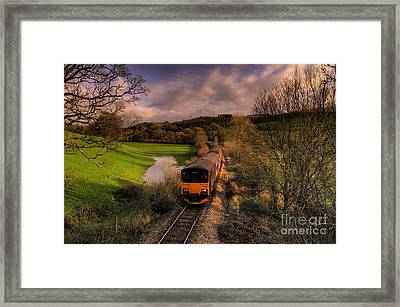 Taw Valley Framed Print by Rob Hawkins