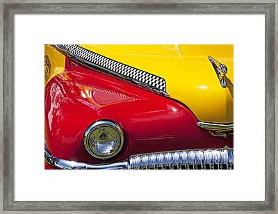 Taxi De Soto Framed Print by Garry Gay