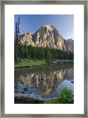 Taylor Lake, Banff National Park Framed Print by Philippe Widling