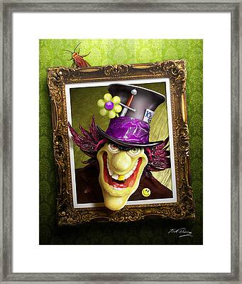 Tea Time For The Twisted Framed Print by Bill Fleming
