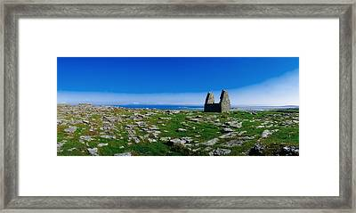 Teampoll Bheamain, Inishmore, Aran Framed Print by The Irish Image Collection