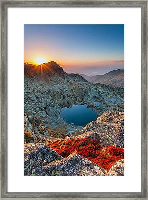 Tears Of The Giant Framed Print by Evgeni Dinev