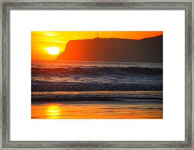 Tears Of The Sun Framed Print by Benjamin Street