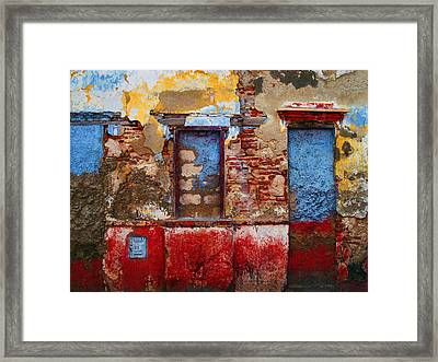 Telecom Framed Print by Skip Hunt