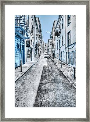 Telegraph Hill Blue Framed Print by Scott Norris