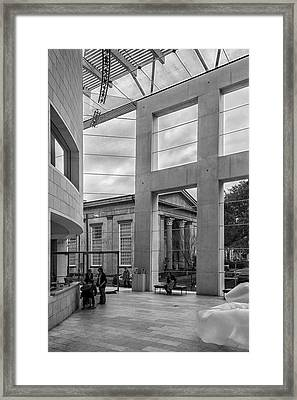 Telfair's Jepson Center Lobby Framed Print by Lynn Palmer