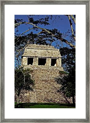 Temple Of The Count ... Framed Print by Juergen Weiss
