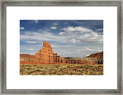 Temple Of The Moon Framed Print by David Hogan