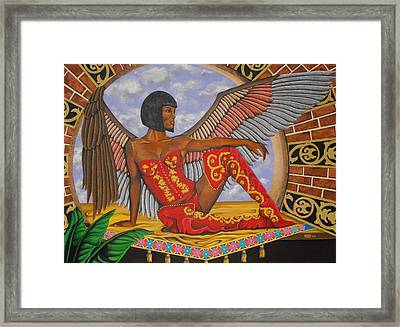 Temptation Framed Print by William Roby
