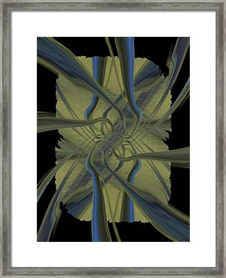 Tendrils Framed Print by Tim Allen