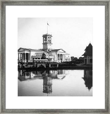 Tennessee Centennial - Nashville - Auditorium - C 1897 Framed Print by International  Images