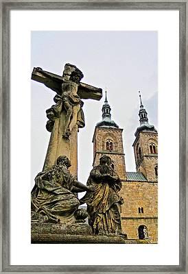 Tepla Monastery - Czech Republic Framed Print by Juergen Weiss