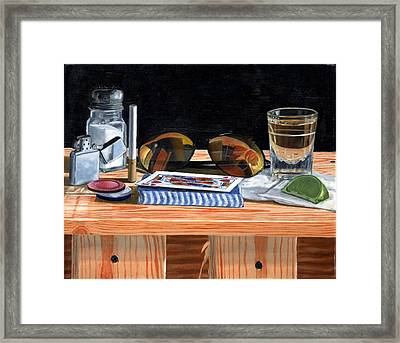 Tequila With Lime No. 5 Framed Print by Thomas Weeks