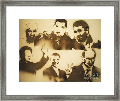 test          Leaders Framed Print by Barry Boom