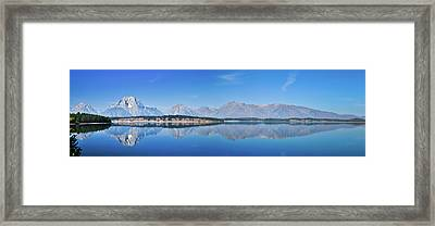 Teton Reflections Framed Print by Greg Norrell