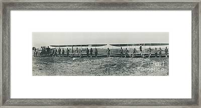 Texas Aero Squadron Framed Print by Padre Art