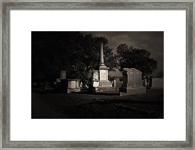 Tcm - Bagdad Cemetery Framed Print by Trish Mistric