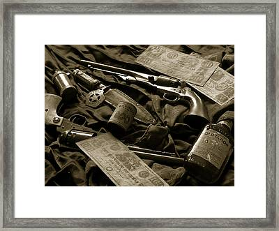 Texas Lawman Framed Print by Bill Holton