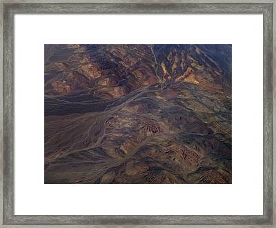 Textures Of Earth Framed Print by Naman Imagery