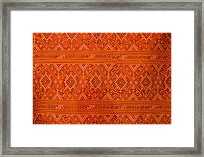 Thai Patterns. Framed Print by Chatchawin Jampapha