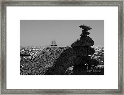 Thar Be Pirates Framed Print by Darcy Evans