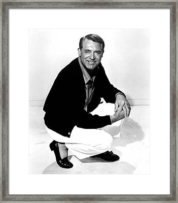 That Touch Of Mink, Cary Grant, 1962 Framed Print by Everett