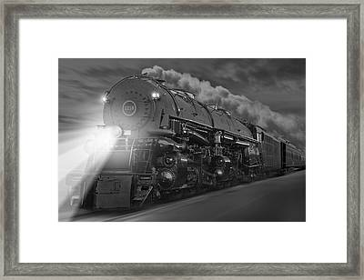 The 1218 On The Move Framed Print by Mike McGlothlen