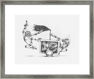The 24 Hour Test Framed Print by Canis Canon