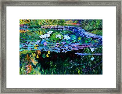 The Abstraction Of Beauty Two Framed Print by John Lautermilch