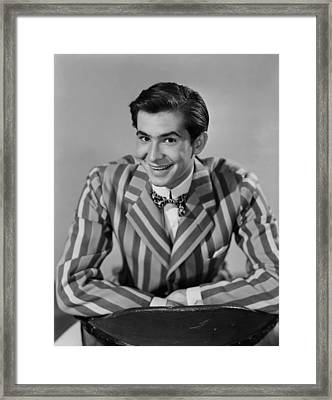 The Actress, Anthony Perkins, 1953 Framed Print by Everett