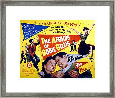The Affairs Of Dobie Gillis, Debbie Framed Print by Everett
