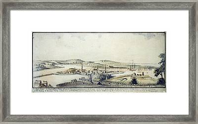 The American Revolution, View Framed Print by Everett