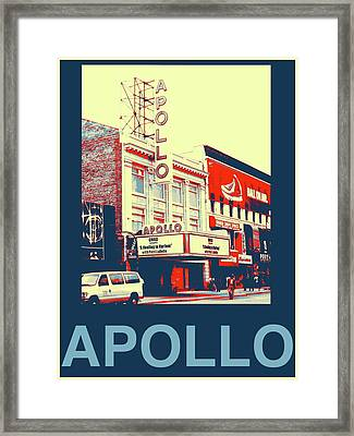 The Apollo Framed Print by Marvin Blatt