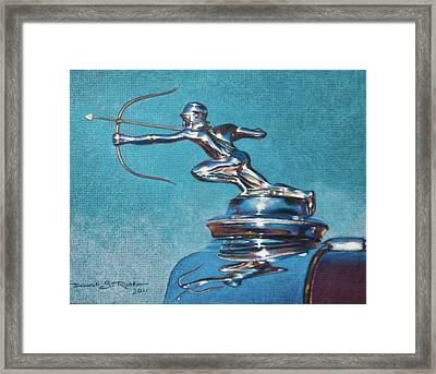 The Archer Framed Print by Deb Richter